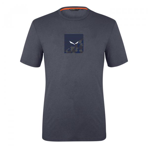 Printed Box Herrenshirts Navyblue
