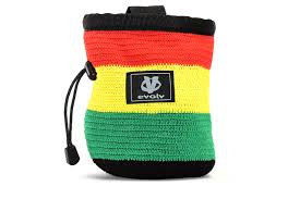 EVOLV KNIT RASTA CHALKBAG