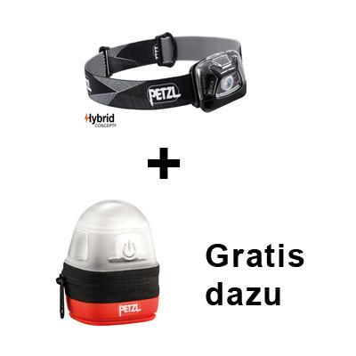 Bundle: Petzl Stirnlampe Tikka + Gratis Etui