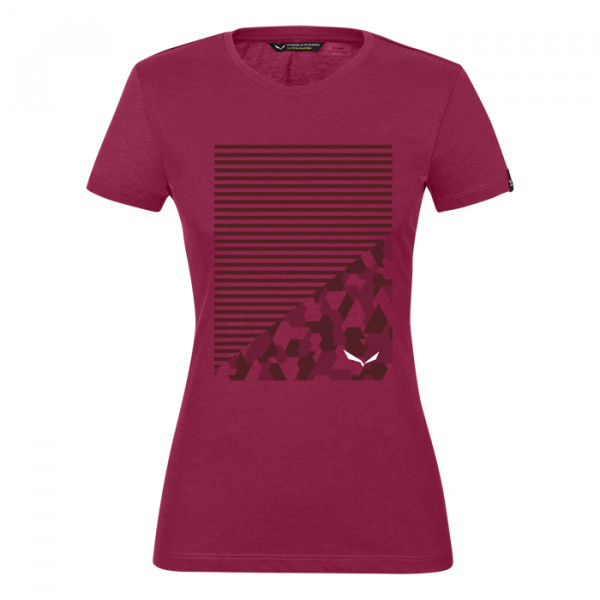 Geometric_dry_Damenshirt_rot