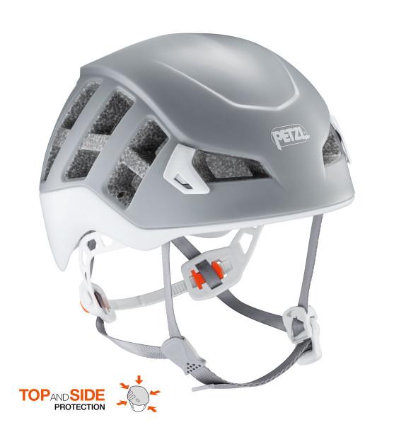 Petzl Meteor Kletterhelm Grau