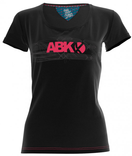 ABK ADN TEE BLACK