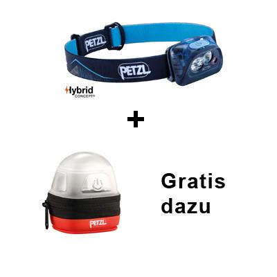 Bundle: Petzl Stirnlampe Actik + Gratis Etui